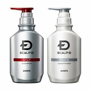 2020 New! ANGFA ScalpD, Scalp Shampoo 350ml and Conditioner 350ml,Hair growth