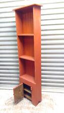 Handmade display cabinet, three shelves, bottom door, customed your way