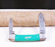 CARL SCHLIEPER EYE BRAND SOLINGEN GERMANY TENNESSEE GREEN CANOE KNIFE RARE