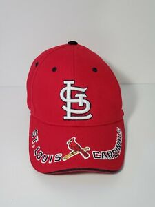 St Louis Cardinals Snapback Hat Cap  STL Red White Logo Baseball Fans One Size
