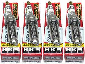 [Set of 4] HKS Super Fire Racing Iridium Spark Plugs for 17-21 Civic Type-R FK8