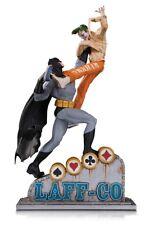 BATMAN VS JOKER LAFF CO BATTLE STATUE 5000ex DE DC DIRECT SORTIE MAI 2018