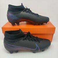 Nike Superfly 7 PRO FG Soccer Cleats AT5382-010 Black Men's Size 10 With Box