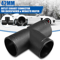 42mm Heater Air Vent Outlet Ducting T Piece Connector For Webasto Eberspacher