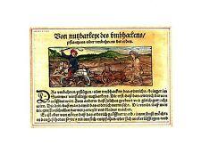 Originaldrucke (bis 1800) aus Deutschland mit Arbeitswelt & Technik