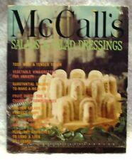 Vintage Recipe Magazine McCall's Salads and Salad Dressings 1978
