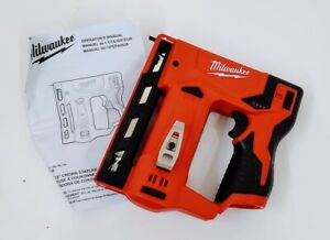 "Milwaukee 2447-20 M12 Cordless 3/8"" Crown Stapler (Tool-Only)"