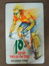 Chip Kaart MINT Ongebruikt Luxemburg  KS 07 - 07.96  Velo an der Stad