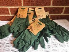 Seven Pairs Youth Gardening Gloves Lot Cotton Canvas Lil Digz 7 Pairs