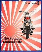 Bonhams Auction Catalog Automobiles Oct 2011 The Autumn Stafford Sale