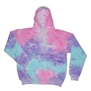 Tie Dye Hoodie Pullover Hoodie Sweater Sweatshirt S M L XL 2XL Heavyweight