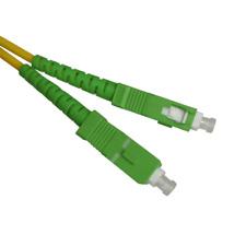 Cable fibra Optica Sc-apc monomodo simplex 9-125 3 m amarillo
