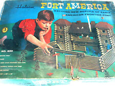 Vintage 1960'S Halsam Fort America (fort Apache type) Calvary playset) no. 850