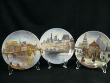 D'Arceau Limoges Les Sites De Parisiens Collector Plates - Three
