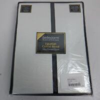 Belledorm Cotton Sateen 1000 Thread Count Extra Deep Fitted Sheet(Superking) NEW