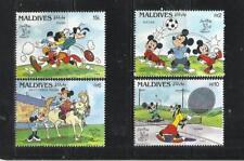 MALDIVAS. Año: 1990. Tema: WALT DISNEY.