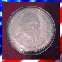 Henry Wadsworth Longfellow - Bronze Medal