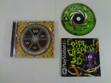 Pipe Dreams 3D Sony PlayStation 1 PS1 **TESTED AND WORKING** FREE SHIPPING