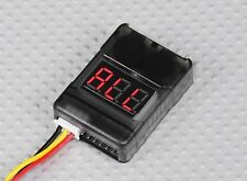 Rc lipo batterie tension faible testeur 2S-8S buzzer alarme checker tester indicateur led