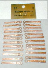 24 Vintage All Brass pick-up brushes NOS slot car Very Scarce by Magnum