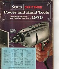 1970 Sears Craftsman Power and hand tools Catalog - Scarce