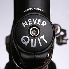 CORNICE personalizzata Cuffie staminali Top Cap nome Ciclo Ciclismo Bicicletta Adesivi Decalcomanie