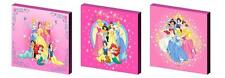 DISNEY PRINCESSES - CANVAS ART BLOCKS/ WALL ART PLAQUES/PICTURES