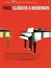 Amsco Publications G0825614724I5N00 Fácil Clásicos A Modernos (Music for Million