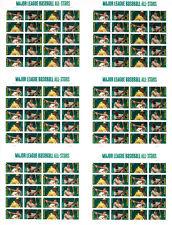 Press Sheet  MAJOR LEAGUE BASEBALL ALL STARS FOREVER STAMPS IMPERF