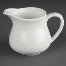 Athena Hotelware Milk Jugs 6oz x 4 Cafe Restaurant Catering Cream Tea