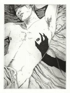 Martin Ridgwell Nosferatu Etching Queer, Gay Vampire Art ltd ed./75, Signed,Exc