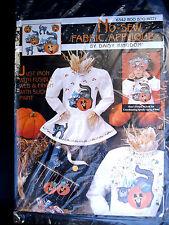 Daisy Kingdom No-Sew Iron-On Fabric Applique BOO BOO Kitty 6342