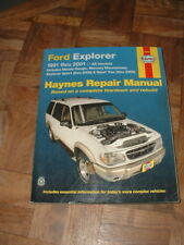Haynes 1992-2001 Ford Explorer Repair Manual All Models