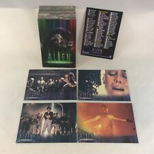 ALIEN LEGACY 1998 COMPLETE CARD SET SIGOURNEY WEAVER (FIRST FOUR MOVIES)