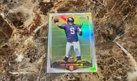 2014 Teddy Bridgewater Topps Chrome Refractor RC Rookie Carolina Panthers #173
