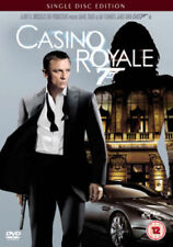 """CASINO ROYALE (DVD- 2007, SINGLE DISC EDITION) R2. """"The best Bond for decades""""**"""