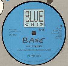 IN-MOTION - Ain't Nobody / Just Those Beats - blue chip