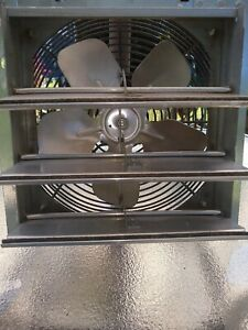 "Dayton - 1HLA1A 1/25 HP 10""-Dia. 115VACV Shutter Mount Exhaust Fan"
