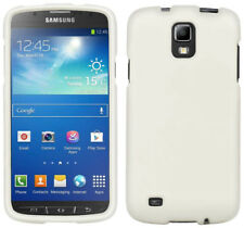 White Protex Rubberized Hard Case Cover For At&T Samsung Galaxy S4 Active i537