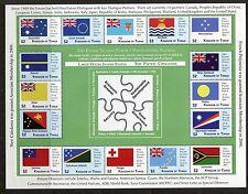 Tonga 2012 Pacific Islands Forum Sheets - Scott 1190-91 1191 - SCV $68