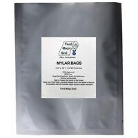25-1 GALLON 10x16 Mylar Bags + 50-300 cc Oxygen Absorbers Long Term Food Storage