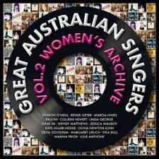 GREAT AUSTRALIAN SINGERS VOL.2 WOMEN'S ARCHIVE: VARIOUS ARTISTS (CD)