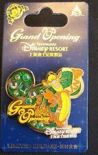 NEW Shanghai Disney Resort Limited Release Tigger Grand Opening Pin