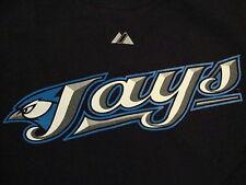 MLB Toronto Blue Jays Major League Baseball Fan John McDonald #6 Black T Shirt S
