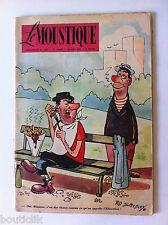 Tv Radio MOUSTIQUE 20/04/1952: Couverture Ted Smedley/ MR Menjou