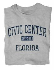 Civic Center Florida FL T-Shirt Miami EST