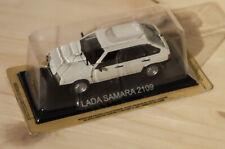 1986 Lada Samara 2109 weiß 1:43 IXO IST Altaya UdSSR USSR VAZ-2109 Forma white