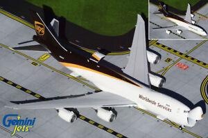 GEMINI JETS UPS BOEING 747-8F 1:400  NOSE OPEN/CLOSE GJUPS1899 IN STOCK