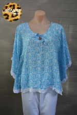 Rayon Batwing, Dolman Sleeve Hand-wash Only Floral Tops & Blouses for Women