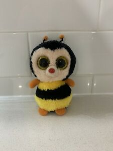 """Sting Bee 6"""" 15cm Ty Beanie Boo No Tag"""